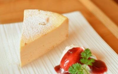 Trebek's Low-Cal Crustless Lemon Cheesecake Recipe