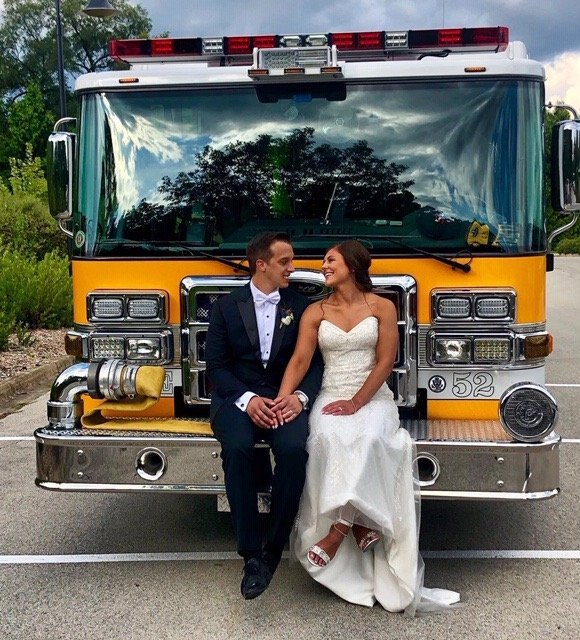 Front Line Newlyweds: Joe and Megan Calcagno