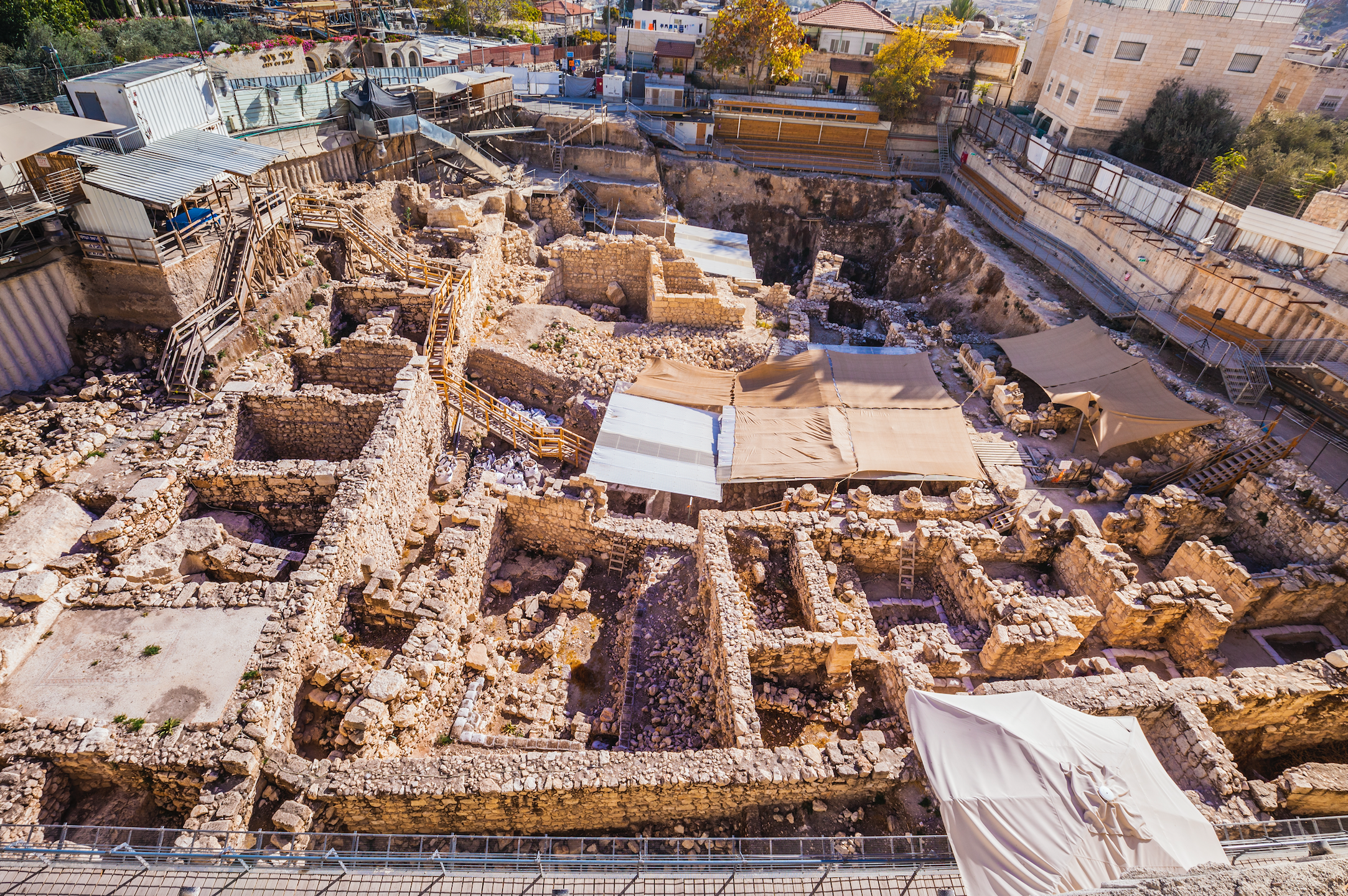 Givati Parking Lot Excavation. Photo by Koby Harati. Courtesy of the City of David