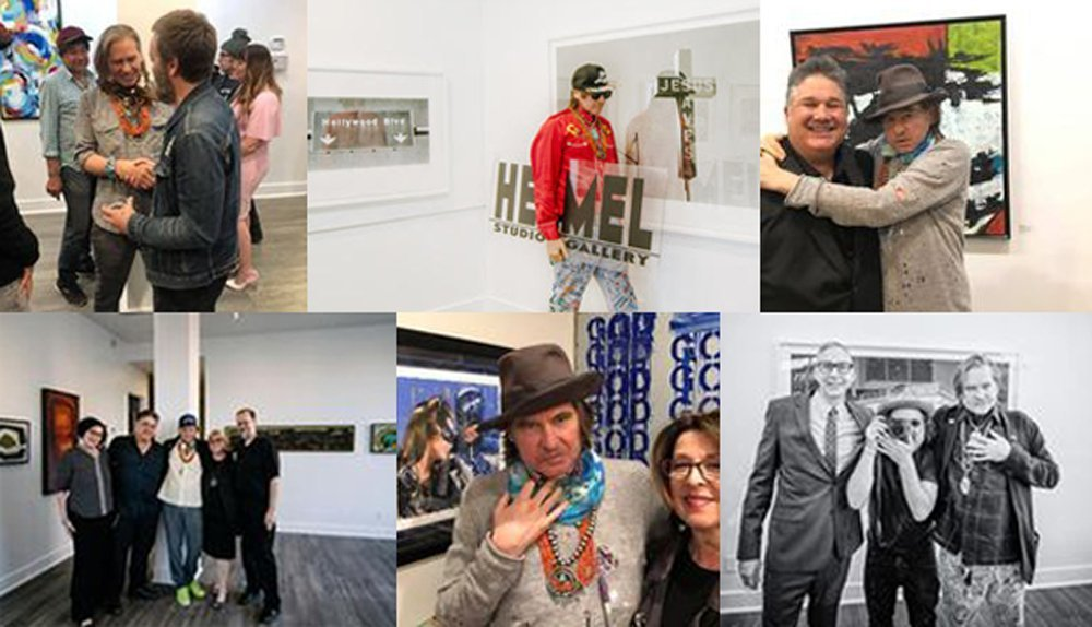 Val Kilmer's HelMel Studio & Gallery in Los Angeles