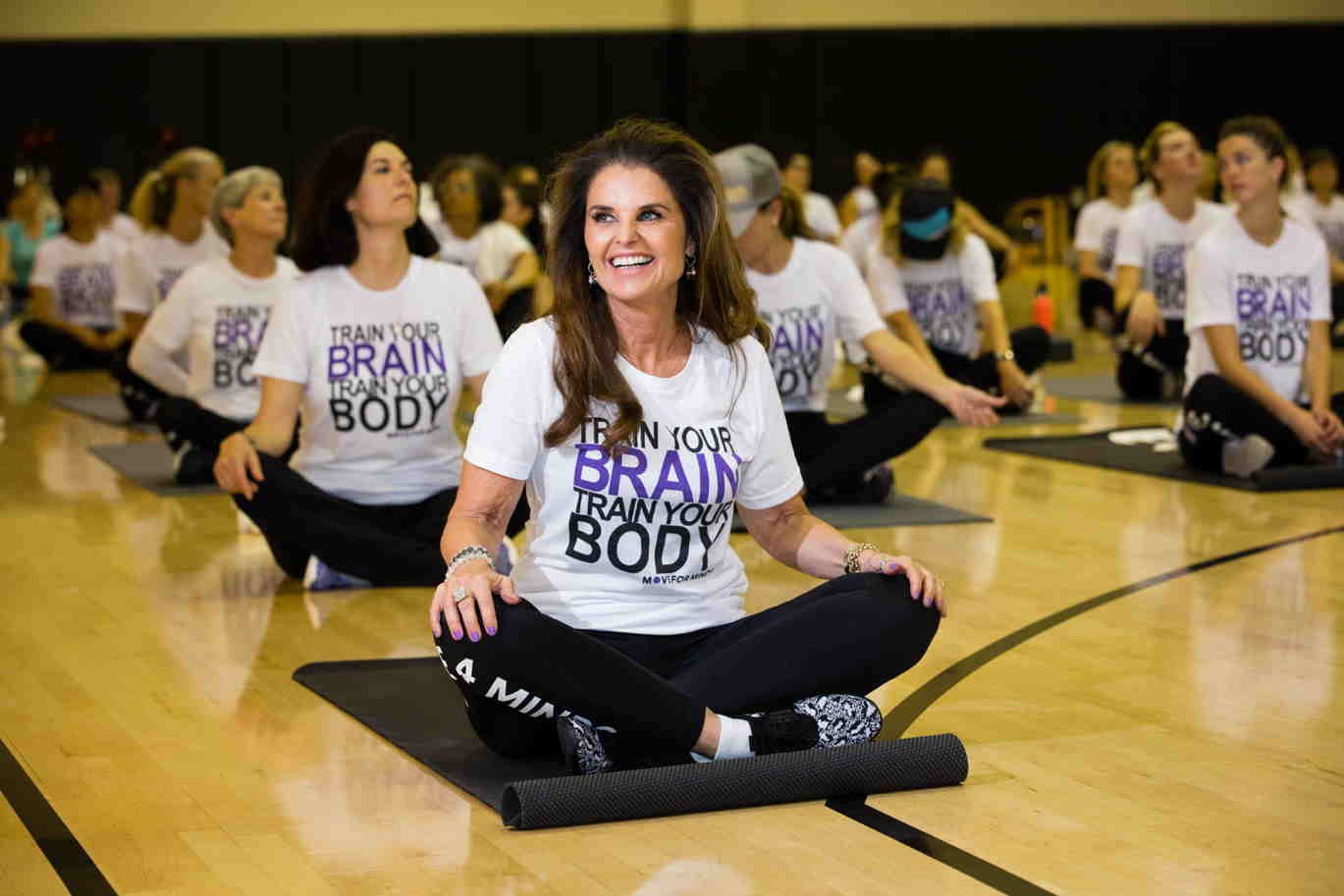 Maria Shriver, Women's Alzheimers Movement, Move for Minds, MFM